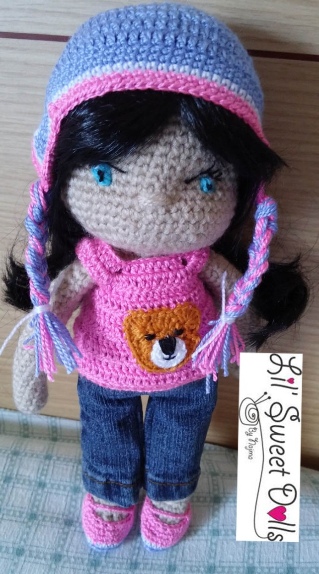 darlene crochet doll ganchillo muñeca amigurumi01