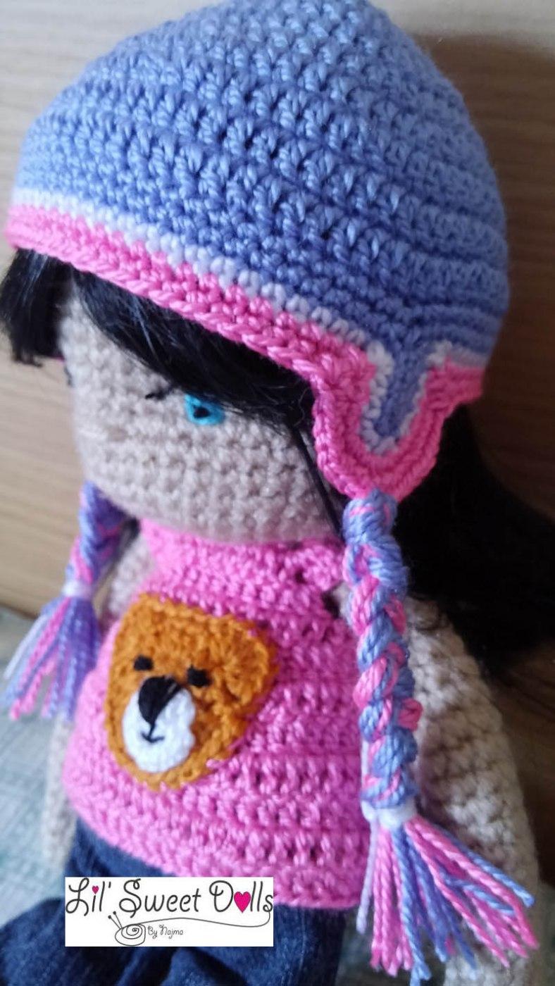 darlene crochet doll ganchillo muñeca amigurumi07