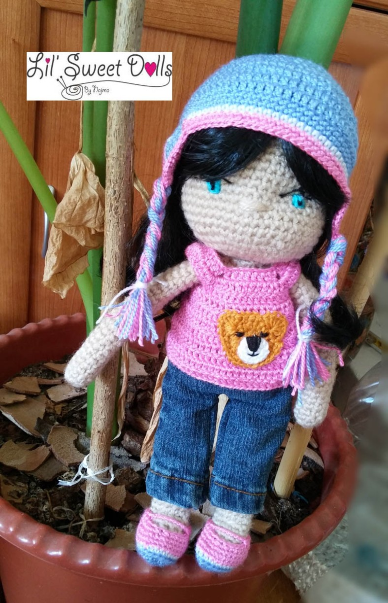 darlene crochet doll ganchillo muñeca amigurumi11