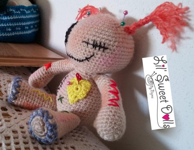 muñeca voodoo crochet ganchillo doll