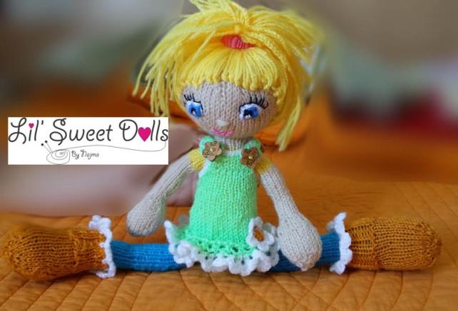 knitted doll muñeca amigurumi najma