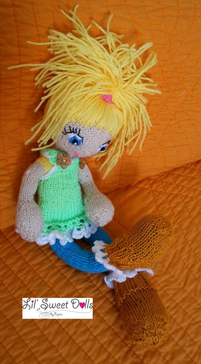 muñeca tejida knitted doll amigurumi najma