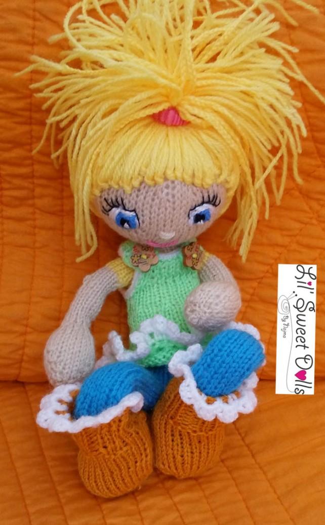 knitted doll amigurumi najma muñeca tejida