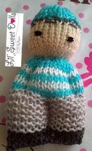 comfort doll knitted doll muñeca tejida  najma07