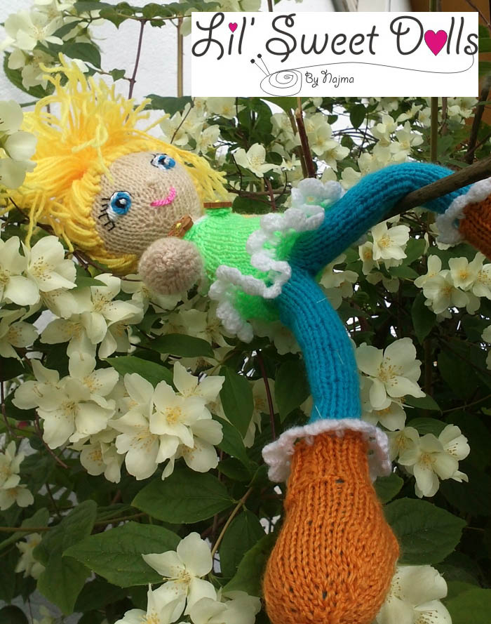 toy knitted doll amigurumi najma