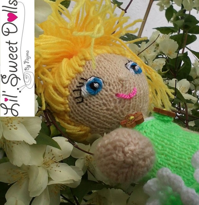 knitted doll amigurumi najma