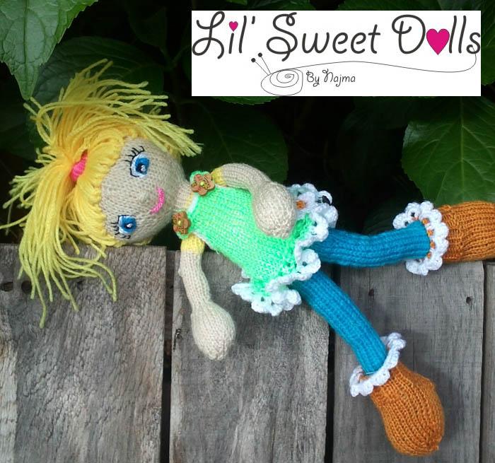 knitted doll amigurumi najma uarm