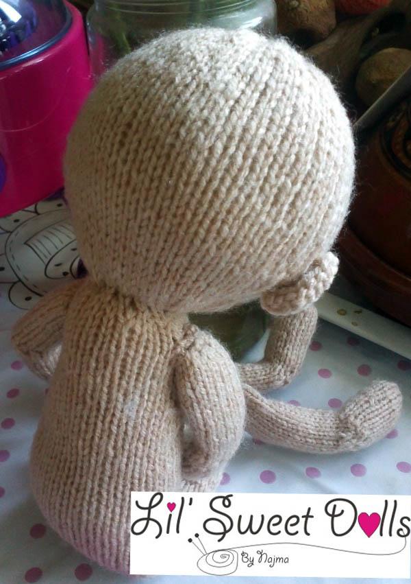 pixie moon knitted doll muñeca tejida  najma01