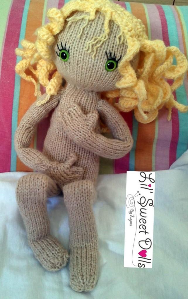 pixie moon knitted doll muñeca tejida  najma05
