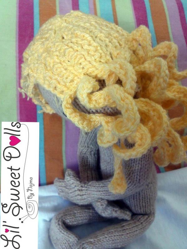 pixie moon knitted doll muñeca tejida  najma09