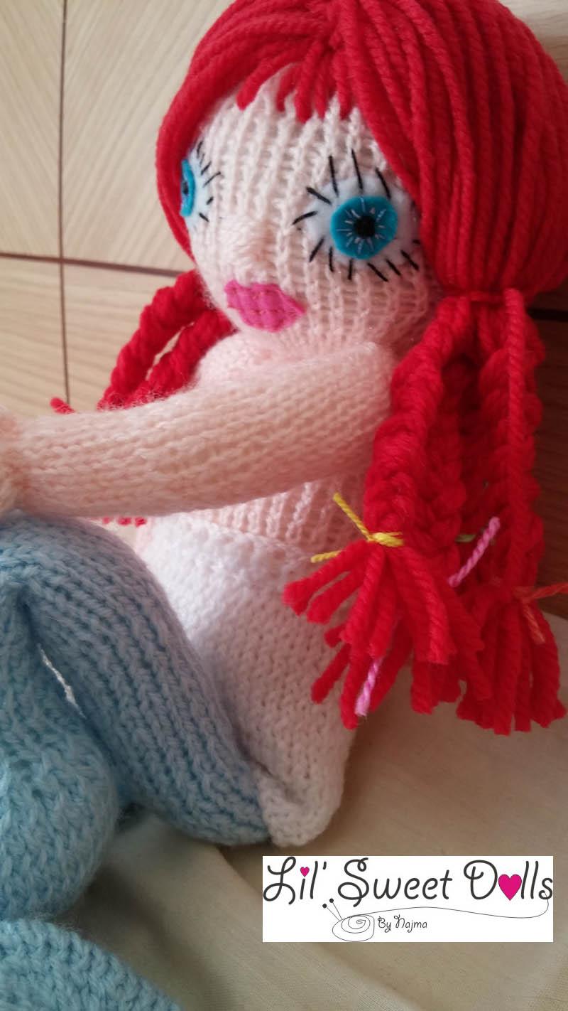 knitted doll muñeca tejida amigurumi