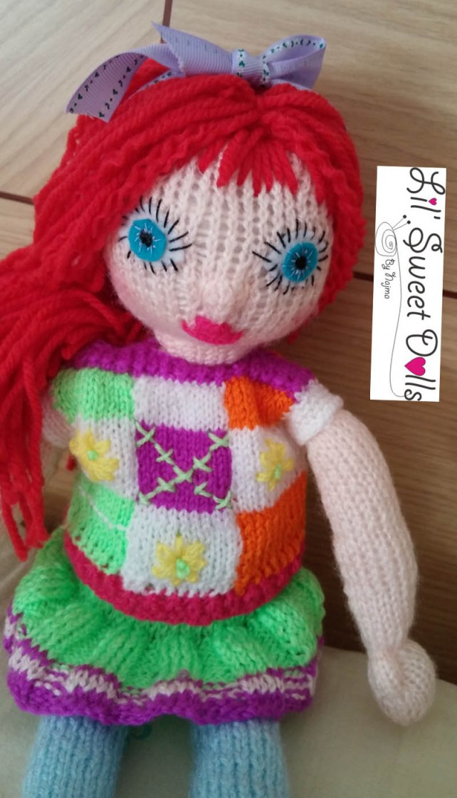 doll knitted