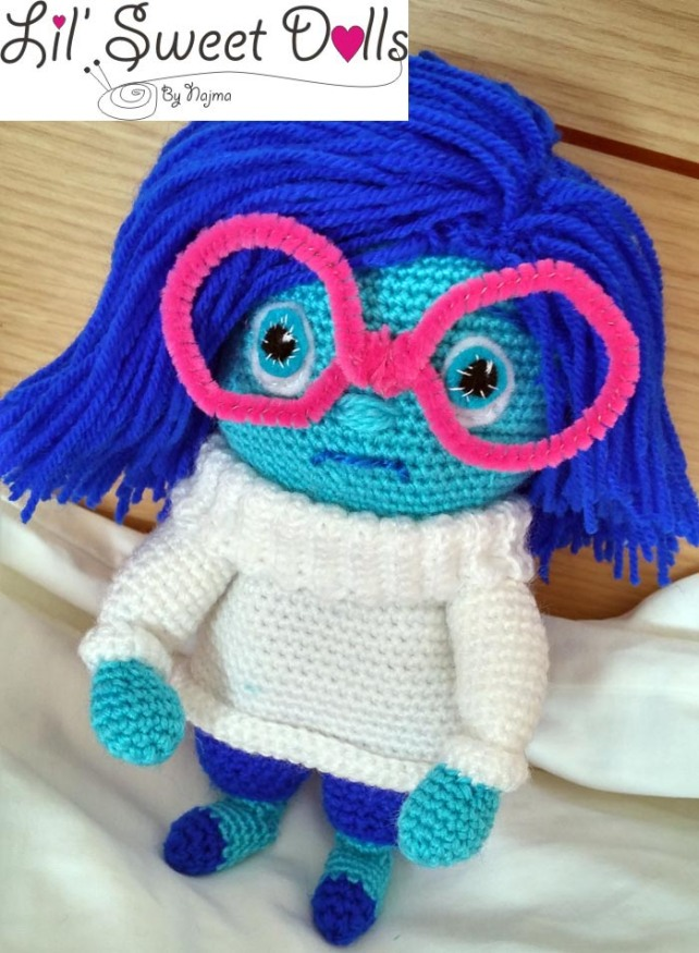 blue inside out doll crochet muñeca ganchillo najma amigurumi01