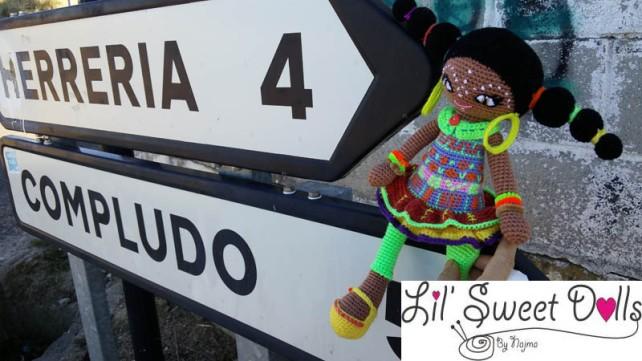 muñeca africana african doll crochet muñeca negrita ganchillo najma crochet  amigurumi10