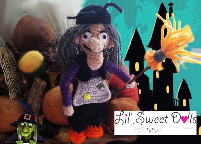 bruja witch halloween doll najma crochet  amigurumi02