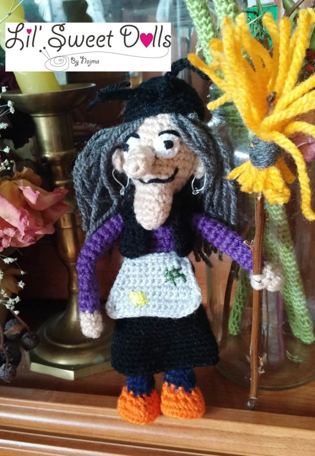 bruja witch halloween doll najma crochet  amigurumi03