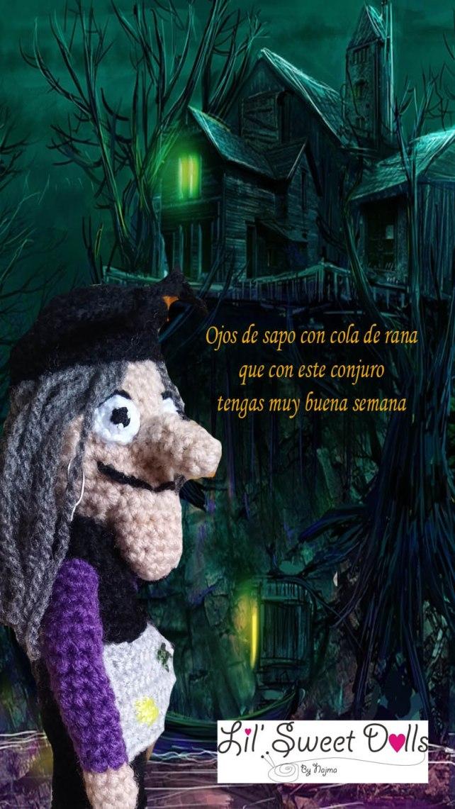 bruja witch halloween doll najma crochet  amigurumi04