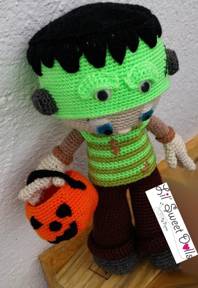 Frankenstein toy doll najma crochet amigurumi02