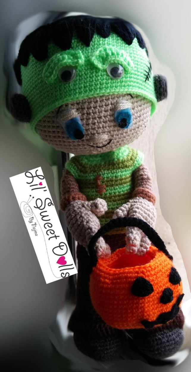 Frankenstein toy doll najma crochet amigurumi03