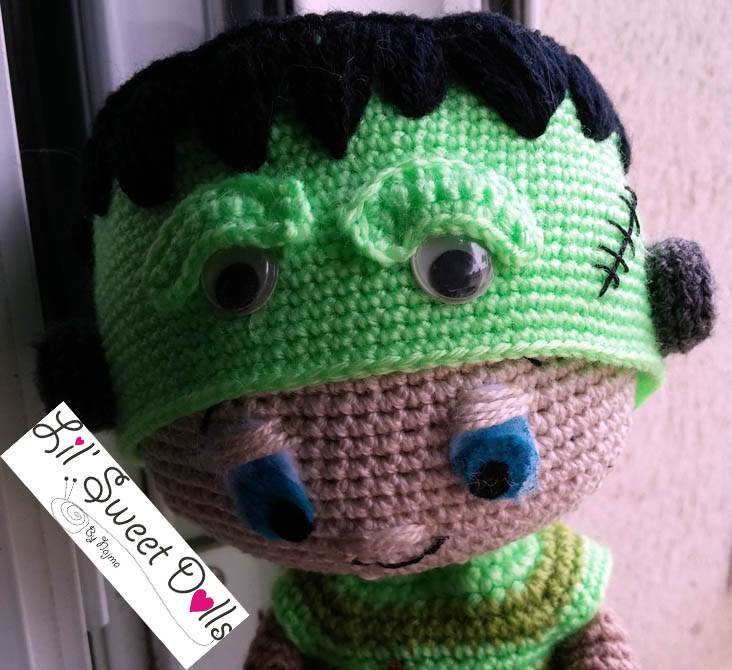 Frankenstein toy doll najma crochet amigurumi04