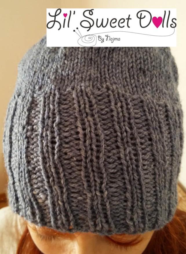 gorro lana tejido knit hat