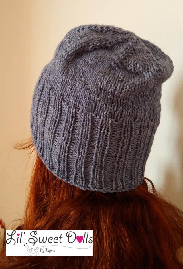 gorro tejido lana knit hat slouch