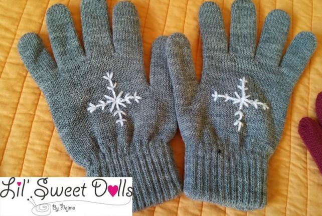 guantes gloves fingerless mittens knit crochet  amigurumi07