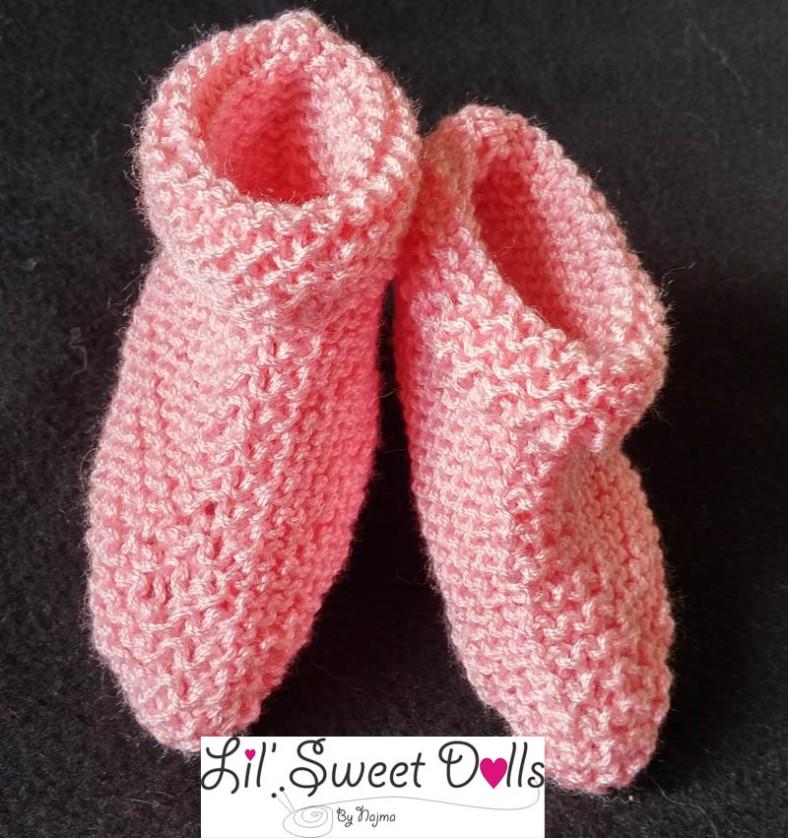 patucos tejidos booties knit