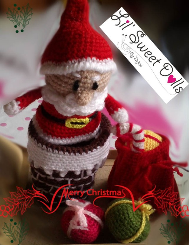 santa christmas gnome papa noel ganchillo crochet amigurumi02