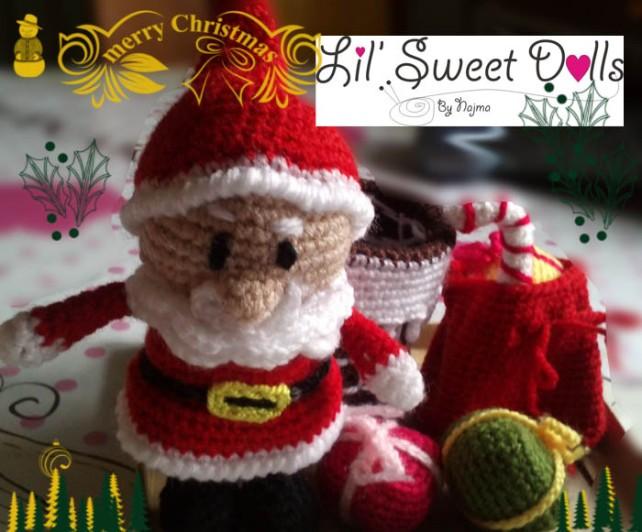 santa christmas gnome papa noel ganchillo crochet amigurumi03