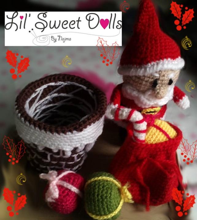 santa christmas gnome papa noel ganchillo crochet amigurumi04