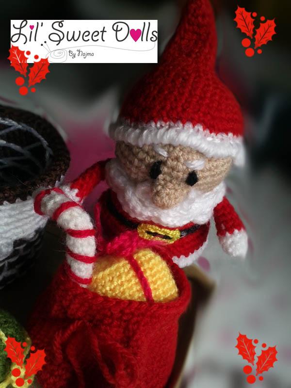 santa christmas gnome papa noel ganchillo crochet amigurumi05