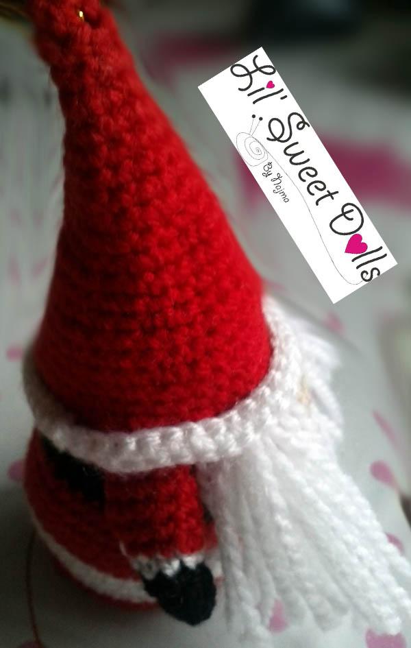 santa christmas gnome papa noel ganchillo crochet  amigurumi08
