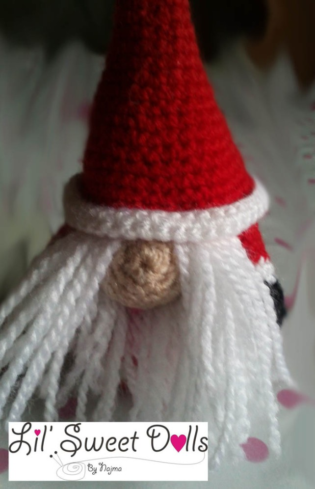 santa christmas gnome papa noel ganchillo crochet  amigurumi09