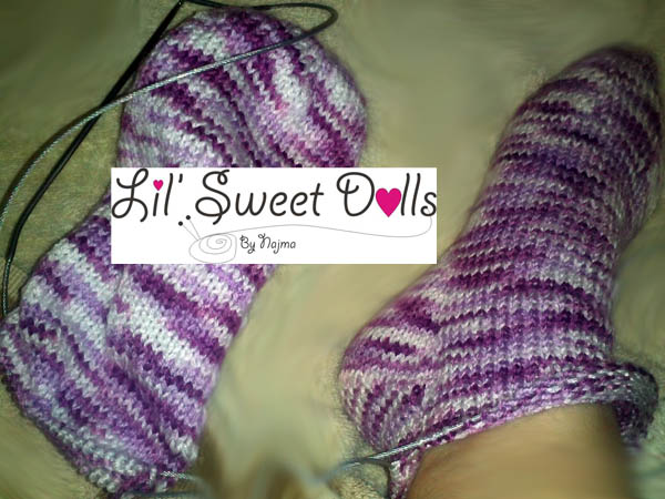 toe up socks two at a time calcetines tejidos knit amigurumi01