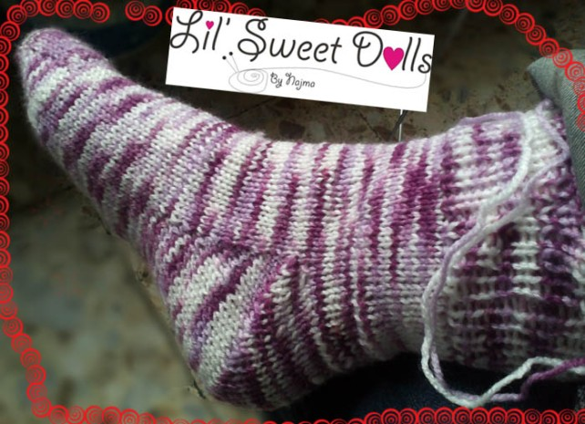 toe up socks two at a time calcetines tejidos knit amigurumi05