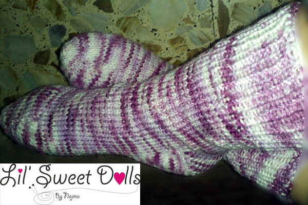 toe up socks two at a time calcetines tejidos knit amigurumi07