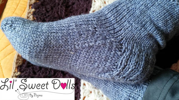 calcetines talon reforzado top downsocks  knit amigurumi02