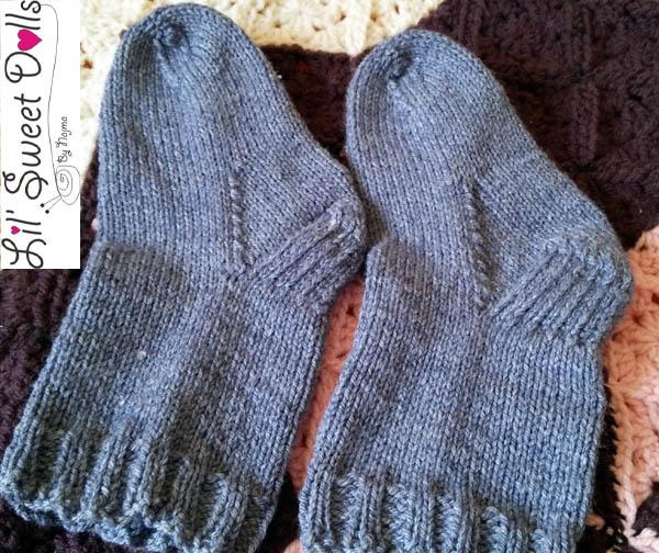 calcetines talon reforzado top downsocks  knit amigurumi03