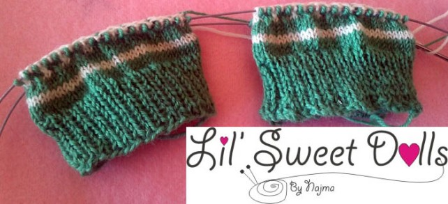sock cuff down knit mosaic  calcetines
