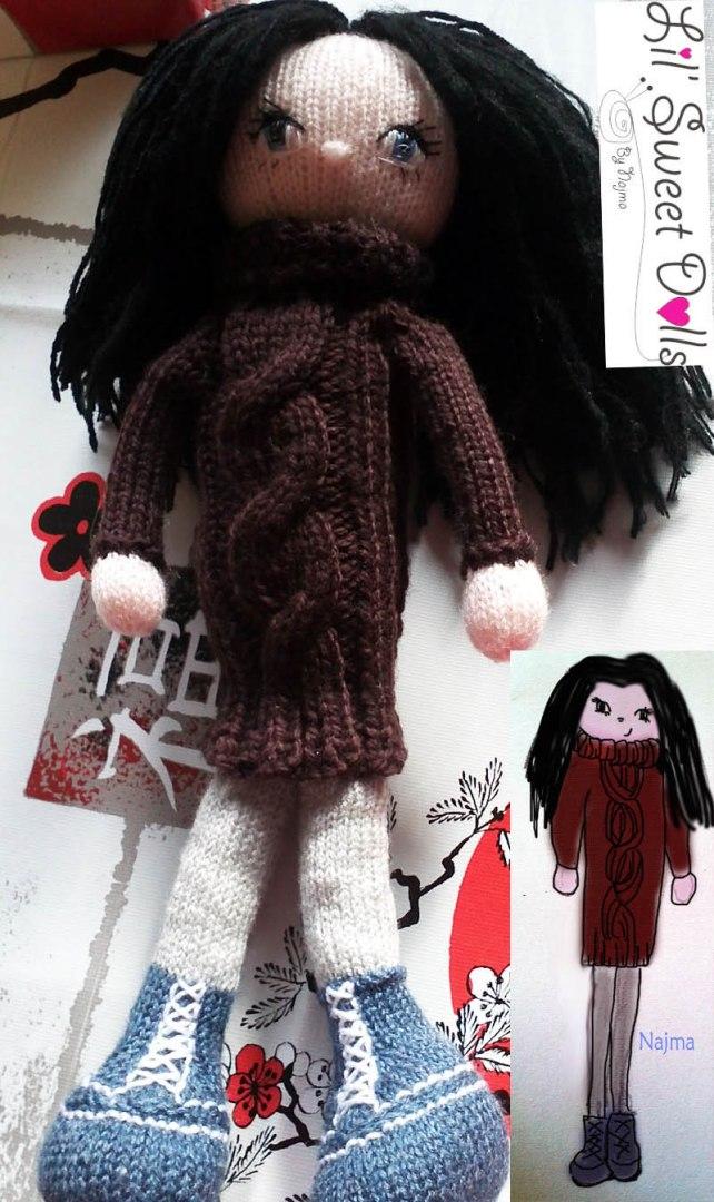 doll knit muñeca tejida knit  amigurumi02