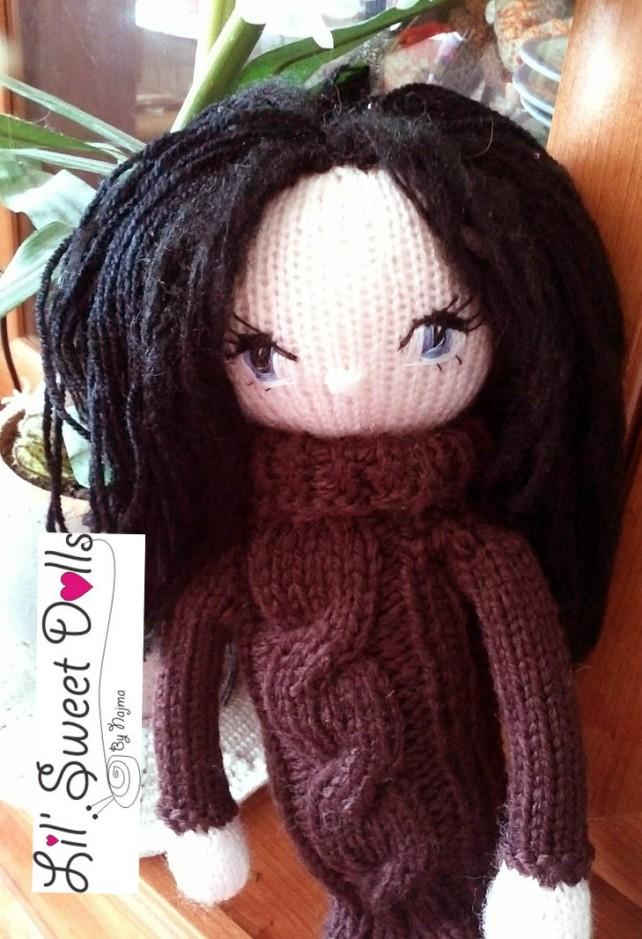 doll knitted muñeca tejida