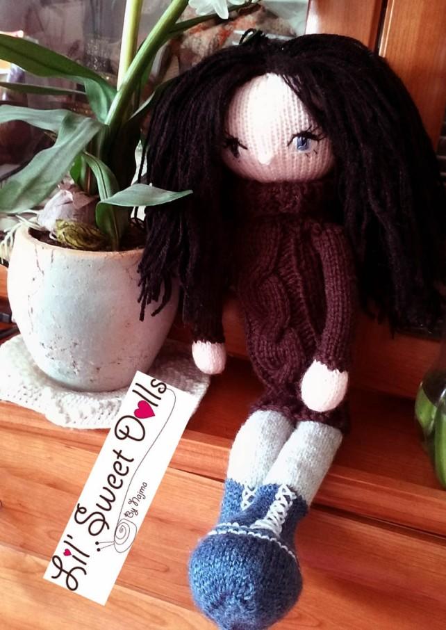 knitted doll muñeca tejida najma
