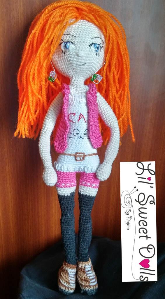 doll muñeca crochet amigurumi01