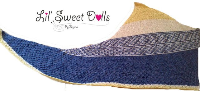 emiliana shawl knitted tricot