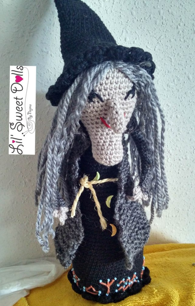 doll toy bruja witch amigurumi crochet