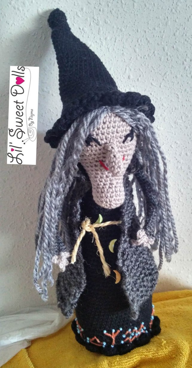 bruja witch amigurumi crochet