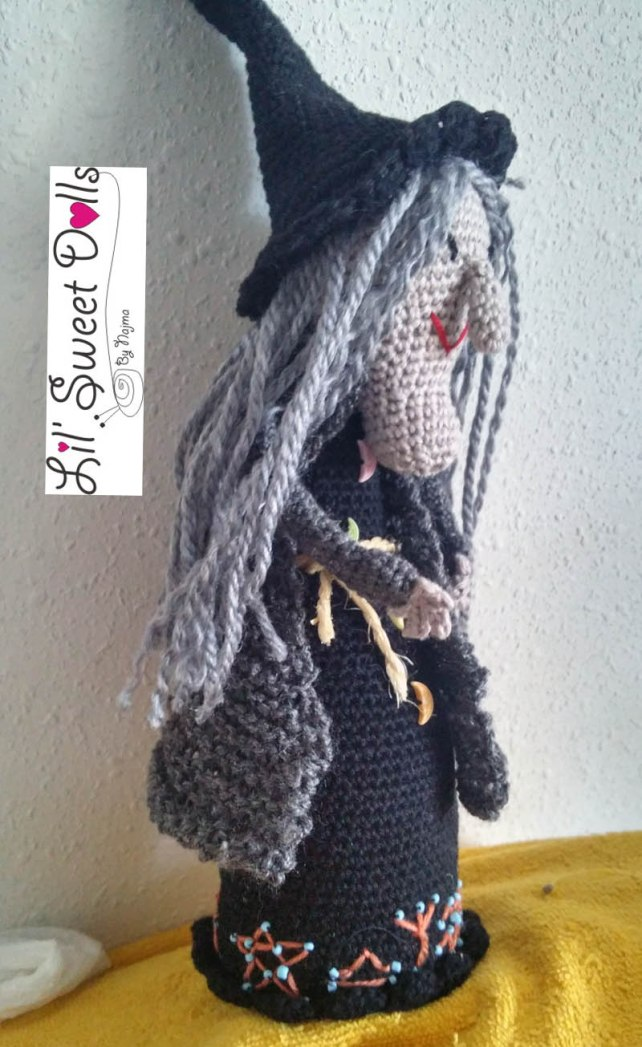 toy bruja witch amigurumi crochet