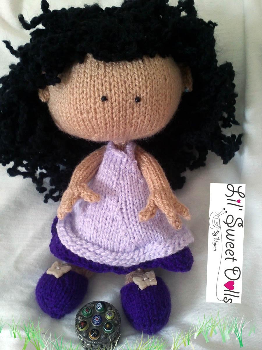 knitted doll muñeca tejida toy