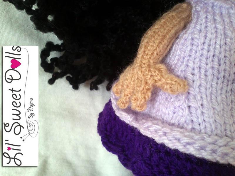 knitted doll muñeca tejida toy tricot